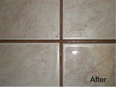 In Time The Light Colored Grout Will Become So Dark It Create Black Borders Around Each Tile